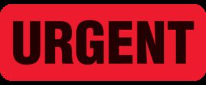 urgent-short-notice