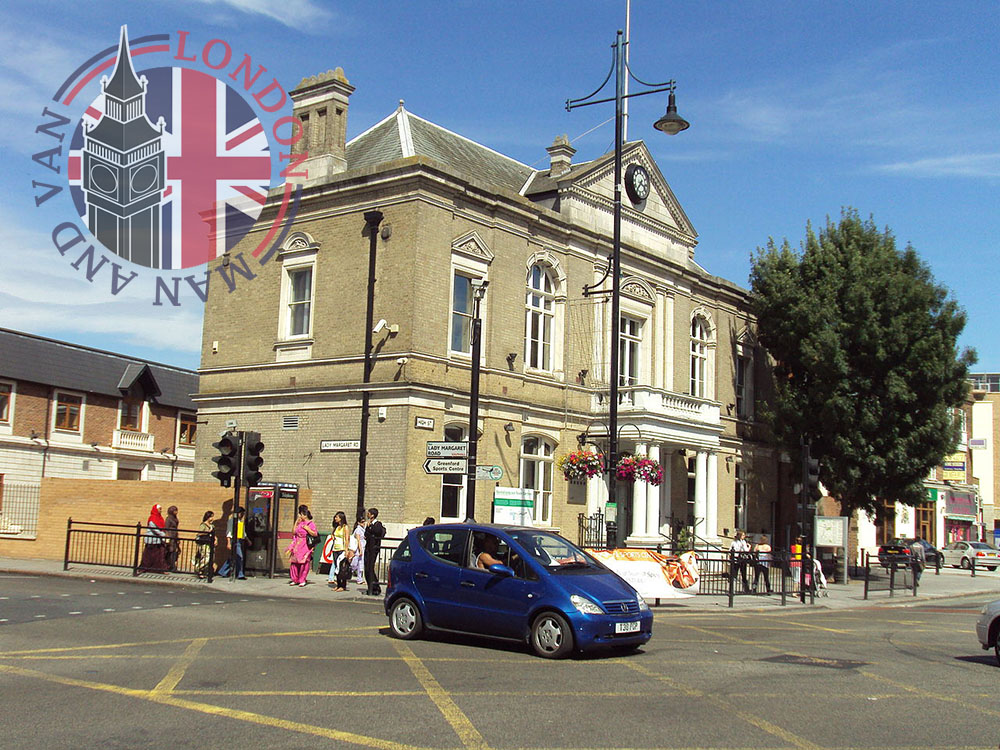 Old Town Hall in Southall