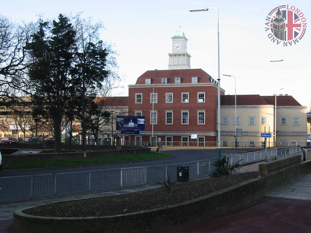 Romford market building