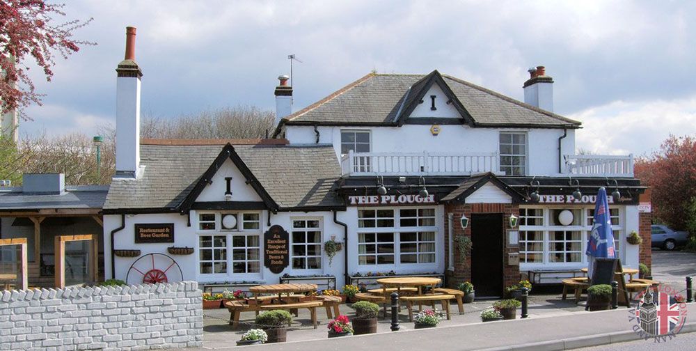 The Plough Pub in Sipson
